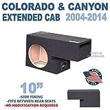 Chevy Colorado & Gmc Canyon Ext-Cab 2004-2014 10' Single ported sub box