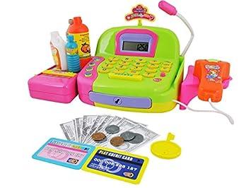 ISO TRADE Caja Registradora De Supermercado De Juguete con Accesorios: Amazon.es: Juguetes y juegos