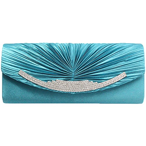 Gold Clutch Bag River Island - 5