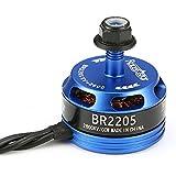 BangBang Racerstar Racing Edition 2205 BR2205 2600KV 2-4S Brushless Motor CW/CCW Dark Blue For QAV250 ZMR250 (1Pc: Mode Counter-clockwise Screw Thread)