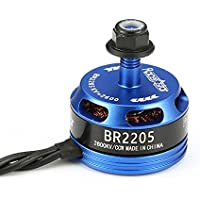 BangBang Racerstar Racing Edition 2205 BR2205 2600KV 2-4S Brushless Motor CW/CCW Dark Blue For QAV250 ZMR250 (1Pc: Mode Counter-clockwise Screw Thread)
