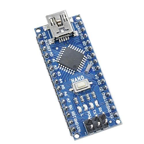 5PCS Mini USB CH340 G CH340G Nano V30 30 Atmega328 ATmega328P Module 5V 16M Driver Board Micro Controller for Arduino