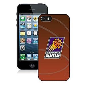Unique Custom Designed Cover Case For iPhone 5s With Phoenix Suns 11 Black Phone Case