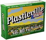 (US) Bachmann Trains Plasticville U.S.A. Log Cabin with Rustic Fence