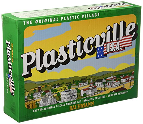 Bachmann Trains Plasticville U.S.A. Log Cabin with for sale  Delivered anywhere in USA