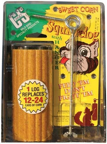 (Cands Products CS610 Squirrelog with Hanger)