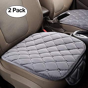2 1 Vordersitzbez/üge und R/ücksitzbez/üge HCMAX Weich Autositz/überzug Kissen Pad Matte Schutz f/ür Autozubeh/ör f/ür Limousine Flie/ßheck SUV