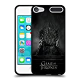 Official HBO Game Of Thrones Iron Throne Key Art Black Soft Gel Case for Apple iPod Touch 6G 6th Gen