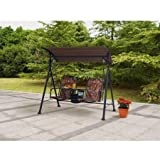 Cheap Ozark Trail* Big and Tall 2-Person Bungee Canopy Porch Swing in Camo