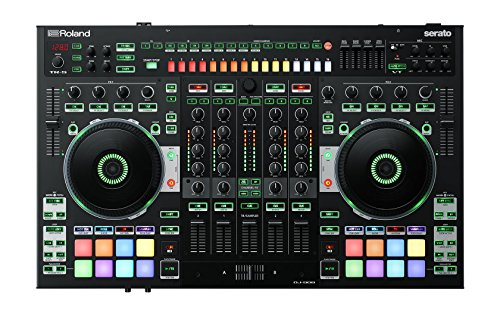 Roland Four-channel, Two-Deck  Serato DJ Controller (DJ-808)