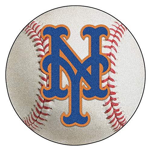 FANMATS MLB New York Mets Nylon Face Baseball Rug