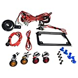 WD Electronics Polaris RZR Street Legal Kit Blinker Kit Turn Signals, Horn, licence plate