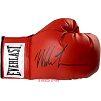 $189 » Mike Tyson Signed Autographed Everlast Red Boxing Glove TRISTAR
