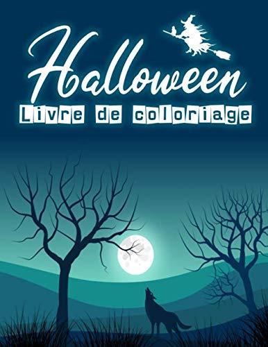 Halloween Livre de coloriage: Livre de coloriage Halloween pour enfants | Jolies dessins amusants à colorier | 60 pages | 8,5
