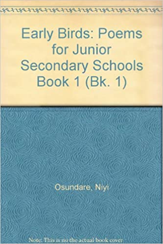 Donde Descargar Libros En Early Birds: Bk. 1: Poems For Junior Secondary Schools Paginas De De PDF