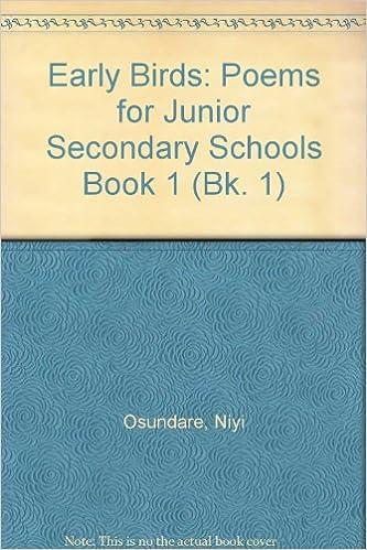 Descargar Torrents En Castellano Early Birds: Bk. 1: Poems For Junior Secondary Schools Epub Ingles