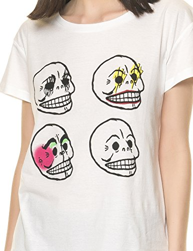 CHEAP MONDAY T-SHIRT HAVE TEE BIANCO DONNA-L