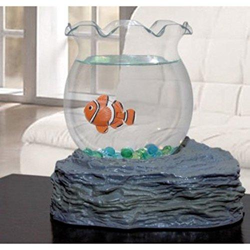 (John Seltzer Fish Bowl With Swimming Fish)
