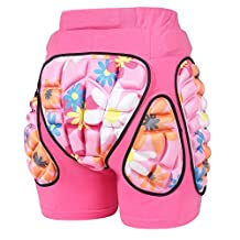 MCTi Kids Boys Girls Youth 3D Protection Hip EVA Paded Shorts Pants Protective Gear Guard Pad Ski Skiing Skating Snowboard