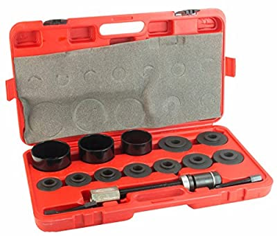 """Dragway Tools Universal Front Wheel Drive Bearing Puller & Hub Removal Car Kit Set 2-3/16"""" to 3-19/32"""" Drift Size FWD"""