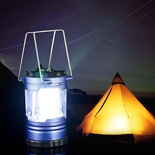 12 Led Portable Camping Lantern Light With Compass