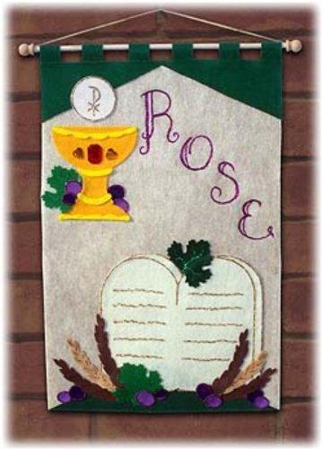 (First Communion Banner Kit - 12 x 18 - 10 Commandments)