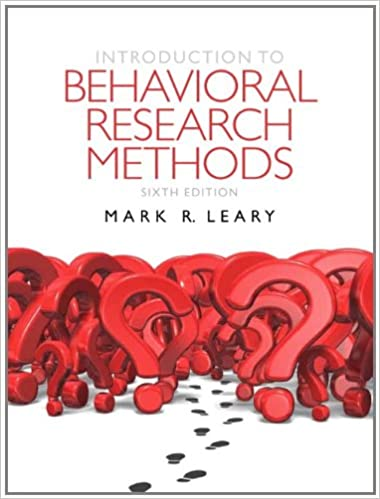 Research methods introduction pdf behavioral to
