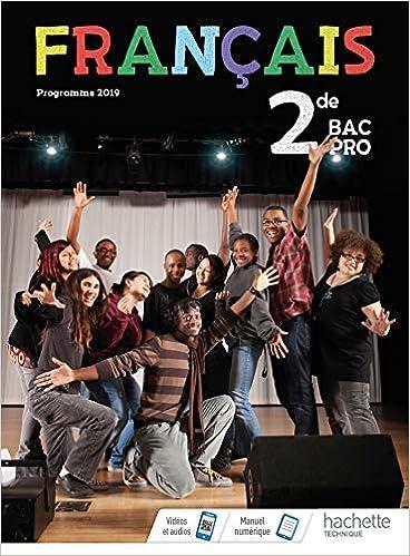 Amazon Fr Francais 2de Bac Pro Livre Eleve Ed 2019
