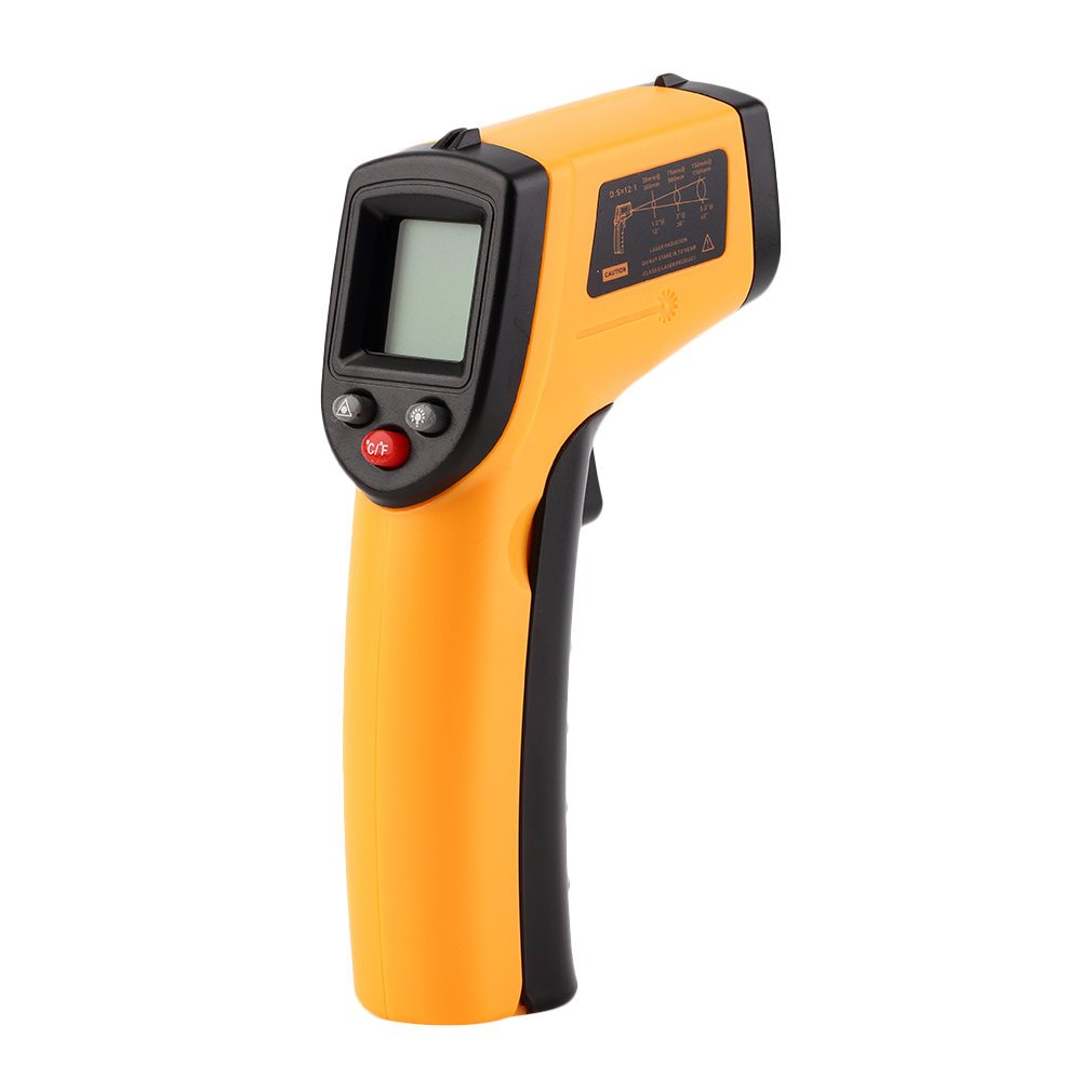 GAEA Non-contact LCD Laser Infrared Digital Temperature Gun -50~380℃(-58~716℉), Instant-read Handheld IR Infrared Thermometer with Backlight by GAEA (Image #2)