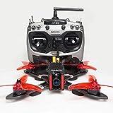"Arris X220 V2 220MM 5"" FPV Racing Drone RC Quadcopter RTF w/Radiolink AT9S + Omnibus F4 Flight Controller + Foxeer Camera + 4S Lipo Battery + 5.8G TX"