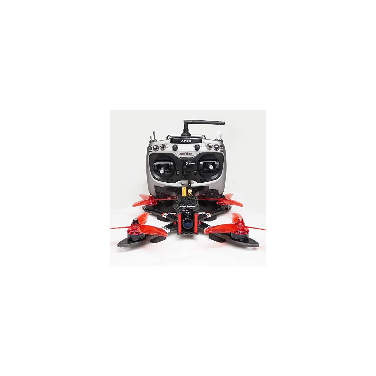 "SaleProductsOffer - No.1 Best Online Store 51-eE-A4XqL ARRIS X220 V2 220MM 5"" FPV Racing Drone RC Quadcopter RTF w/Radiolink AT9S + Omnibus F4 Flight Controller + Foxeer Camera + 4S Lipo Battery + 5.8G TX"