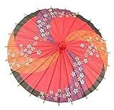Alien Storehouse Mini Handmade Oiled Paper Umbrella, Decorative Umbrellas Kids [B]
