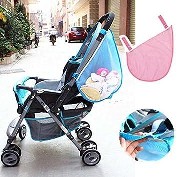 3e338e538f Amazon.com : CLET Baby Stroller Side Organizer Storage Bag Holder Mesh  Buggy Pram Pushchair : Baby