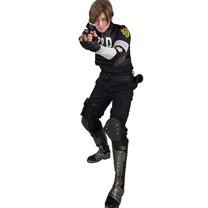 Amazon.com: X-COSTUME Resident Evil 2 Remake Cosplay Re:2 ...
