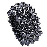 Product review for Yazilind Vintage Spike Rivet Design Silver Tone Resin Stretch Bangle Bracelet Gothic Punk Rock Biker
