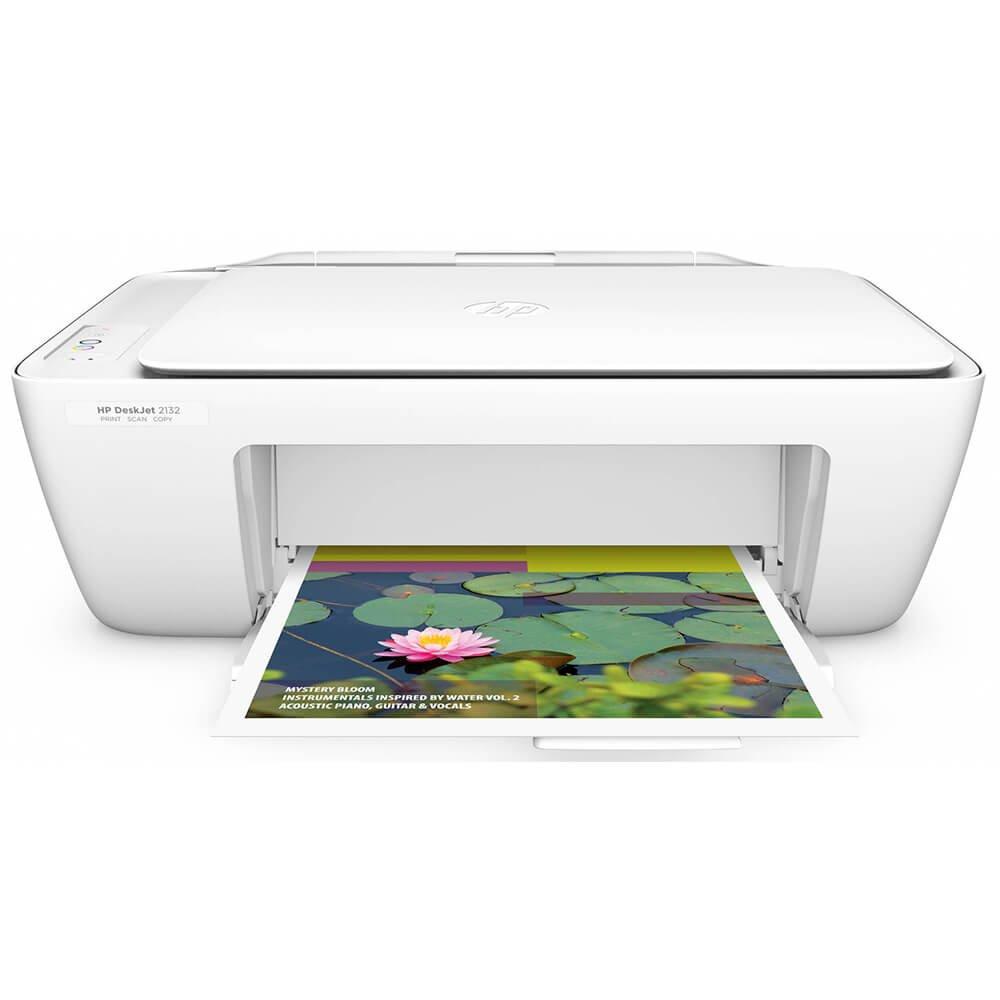 HP DeskJet 2132 All in One Color PrinterCopierScanner