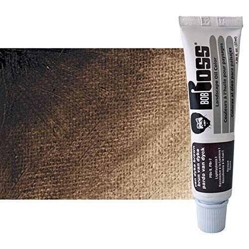 Bob Ross MR6012 37-Ml Artist Oil Color, Van Dyke Brown