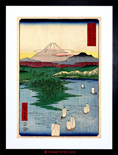 (The Art Stop Painting Japanese Woodblock NOGE Yokohama Framed Print F97X4822 )