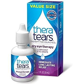 TheraTears Dry Eye Therapy- Lubricant Eye Drops- 1FL OZ(30mL)