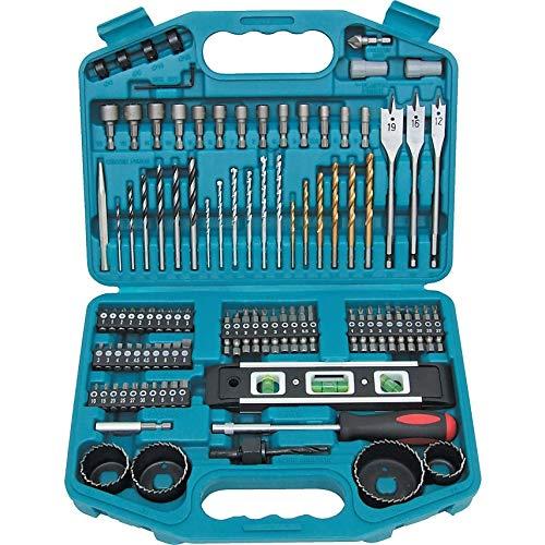 Makita 101 Piece Drill Bit Screwdriver Set p-67832 Professional Drill Accessory