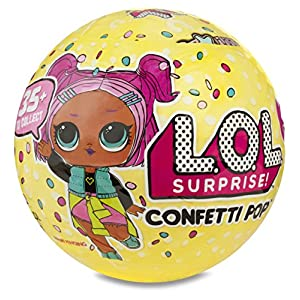 Ratings and reviews for L.O.L. Surprise! Confetti Pop-Series 3-Wave 1 Unwrapping Toy