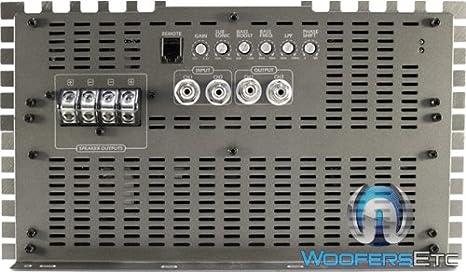 zapco Monoblock 20840 W RMS Clase D Amplificador de Baja Gama Graves: Amazon.es: Electrónica