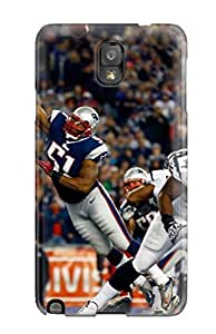 New Cute Funny Houston Texansew England Patriots Case Cover/ Galaxy Note 3 Case Cover