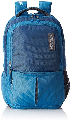 American Tourister 48 cms Teal Laptop Backpack  AMT TECH GEAR LAPTOP BP01 TEAL