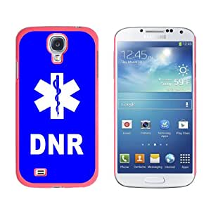 Graphics and More DNR Do Not Resuscitate-Medical Emergency-Star of Life Snap-On Hard Protective Case for Samsung Galaxy S4 - Non-Retail Packaging - Pink