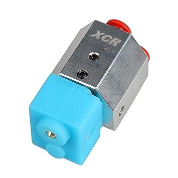 perfk Refrigeración Agua Impresora 3D 0.4/1.75 Metal para Bowden ...