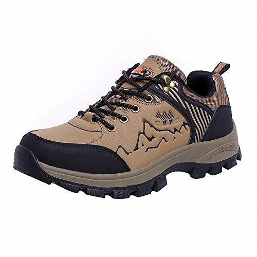 Ben Sports Mens Cool Trail Mountain Hiking Shoes Brown Rw4c9