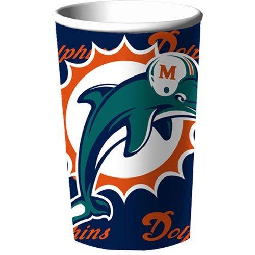 Miami Dolphins 22 oz Stadium Cups 18 Pack