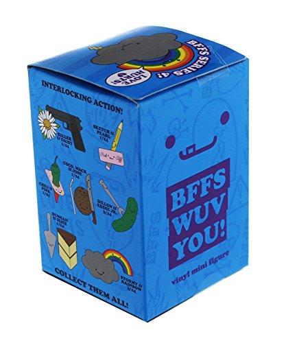 Kidrobot Vinyl Figure (One Blind Box BFFS Series 4 Love Hurts Vinyl Mini Figure by Kidrobot)