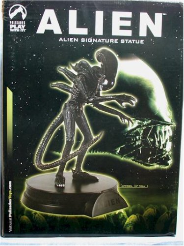 2005 - Palisades Toys - Alien Signature Statue - Accurate Replica From 1979 Film - 16 Inches Tall - Only 1500 Pieces Made Worldwide - Each Piece Numbered - Mint (Numbered Mint)